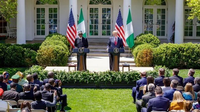 'Dear President, you deserve some accolades'… Twitter reactions to Buhari's visit to the US
