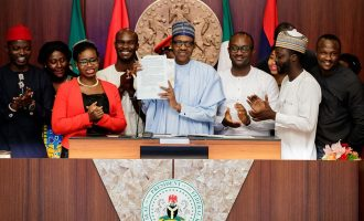 SHOCKER: Buhari says age limit of senators, govs not reduced in 'Not Too Young To Run' law