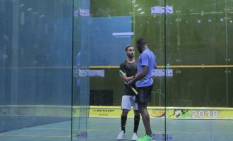 Nigerian players suffer first round exit at Chamberlain Squash Open