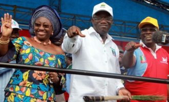 Fayemi includes wife in inauguration committee