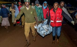 Kenyan dam burst causes 'huge destruction', deaths