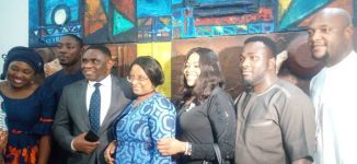 PHOTOS: Chinze Ojobo opens art hub, Kulture Kode, to inspire female artists