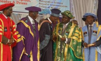 My first SSCE was dotted with F9s, says LASU's best graduate adopted by Ambode
