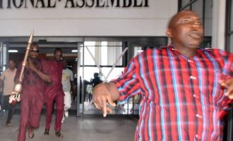 Police: Security men, lawmakers conspired to steal mace