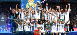 Real Madrid win third consecutive Champions League final