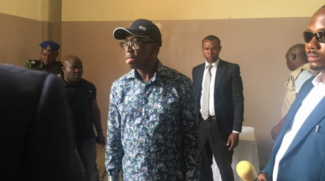 Fayose: We'll keep Okowa in Ekiti till Friday so he can help APC with their primary