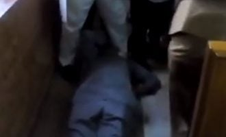 VIDEO: Olisa Metuh collapses in court