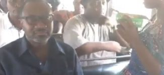 TRENDING VIDEO: Otedola spotted on a 'molue' bus