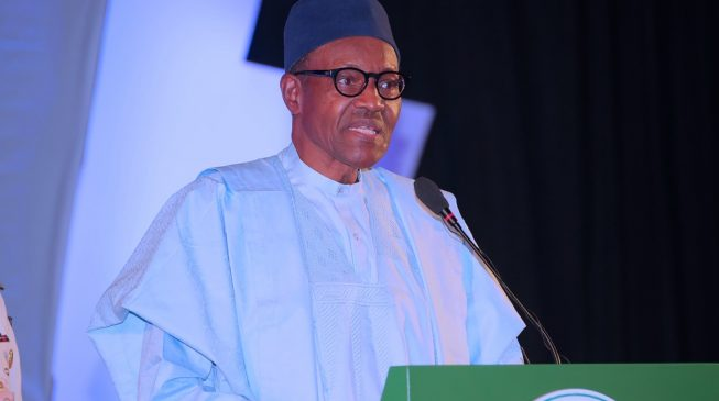 My government is on the right track, says Buhari