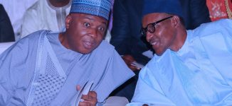 Saraki and Buhari: 'Politically-sinless' before the law