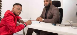Praiz signs fellow Project Fame alumnus