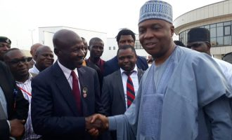 Saraki to Magu: We're together in the war against corruption