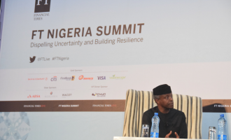 Osinbajo: We didn't sign AfCTA because we wanted to satisfy the private sector