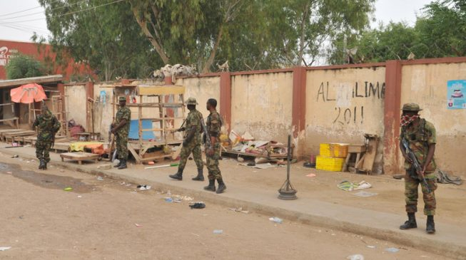 Soldiers storm Rivers police station over colleague's death