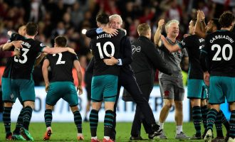 Southampton win at Swansea to relegate West Brom