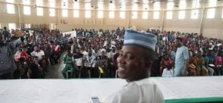 Sowore vows to liberate Kwara, says 'Saraki will be jailed'