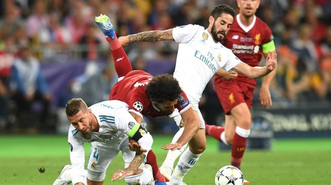 Egyptian lawyer files €1bn lawsuit against Ramos over Salah's injury
