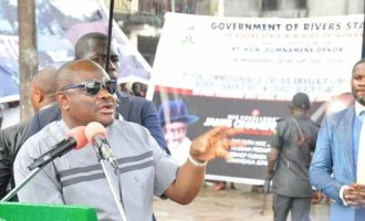 Wike: Presidency, APC backing a PDP presidential aspirant