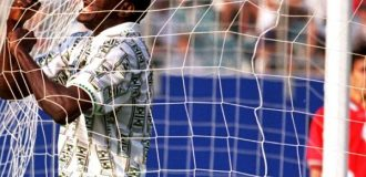 VIDEO: Relive Super Eagles' first World Cup goal by Rashidi Yekini