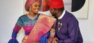 PHOTOS: Zainab Balogun holds traditional engagement to Dikko Nwachukwu