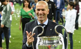 Zidane steps down as coach of Real Madrid