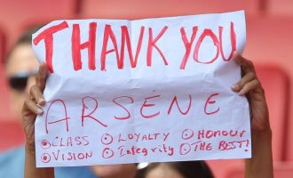#MerciArsene — thank you for the memories Le Prof
