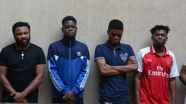 EFCC arrests six 'yahoo yahoo boys' in Abuja