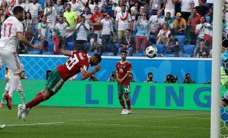Last-gasp own goal earns Iran dramatic win