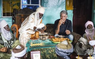 Life of CNN's Bourdain in pictures