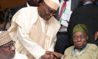 Obasanjo: God will never forgive me if I support Atiku for president