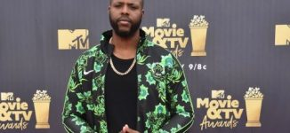 PHOTOS: 'Black Panther' star rocks Nigeria's World Cup kit to MTV Movie Awards
