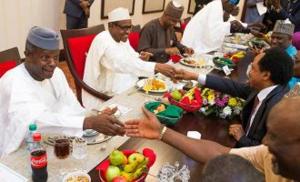 Buhari, Osinbajo's feeding budget slashed by N18m