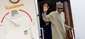 Does Buhari hide his shit like North Korea's Kim Jong-Un whenever he travels abroad?