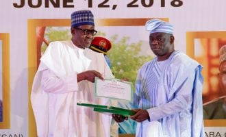 Buhari apologises for the annulment of June 12