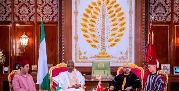 Buhari in Morocco