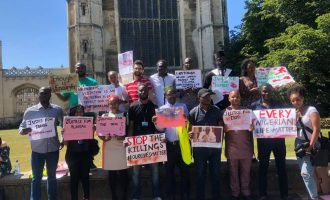 'Visitation not protection' — Nigerian students at Cambridge ask Buhari to 'stop the killings'