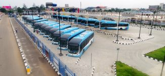 PHOTOS: First set of new buses arrive Lagos terminals