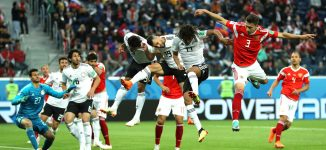 Eliminated Egypt protest referee's Russia performance