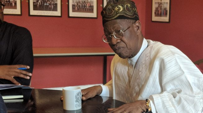 VIDEO: PDP danced on Abiola's grave for 16 years, says Lai