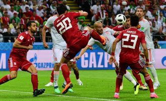 World Cup round-up: Morocco out, Iran showboats throw-in