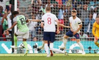 Iwobi scores but England beat Nigeria in World Cup warm-up