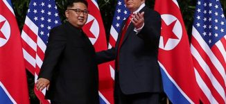 US to stop South Korea war games, says Trump at summit with Kim
