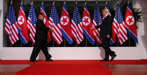 Scenes from historic US- North Korea summit