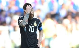 Messi, Argentina held by Iceland