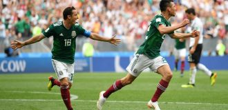Mexico stun World champions, Germany