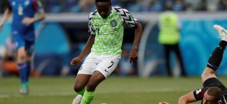 'He made him to lie down in greener pastures' …Twitter reacts to Nigeria's victory