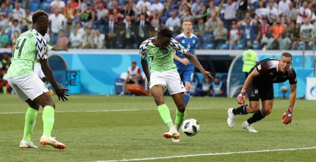 In pictures: How Super Eagles defeated Iceland