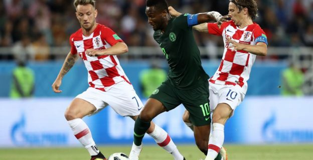 In pictures: Croatia v Nigeria
