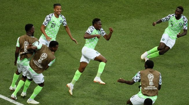 Super Eagles can go very far in World Cup, says Buhari after Iceland win