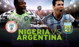 How it happened: Nigeria eliminated from World Cup by Argentina